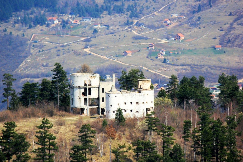 Čolina Kapa Observatory at Trebevic Mountain near Sarajevo