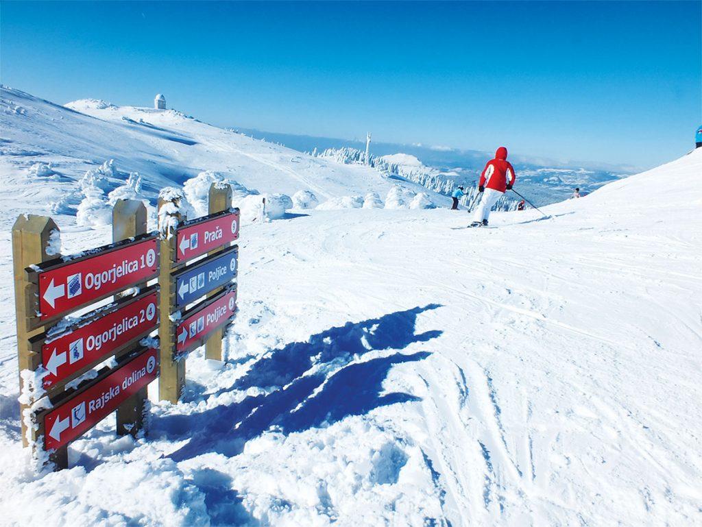 Jahorina Skiing near Sarajevo