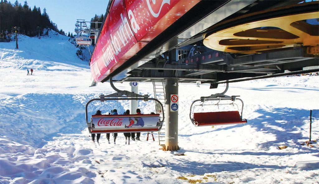 Jahorina Ski Lift Near Sarajevo