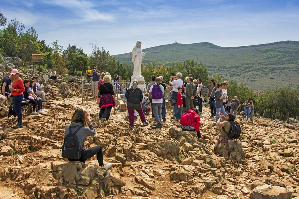 Apparition Hill and Statue of Virgin Mary - Medjugroje - Bosnia and Herzegovina