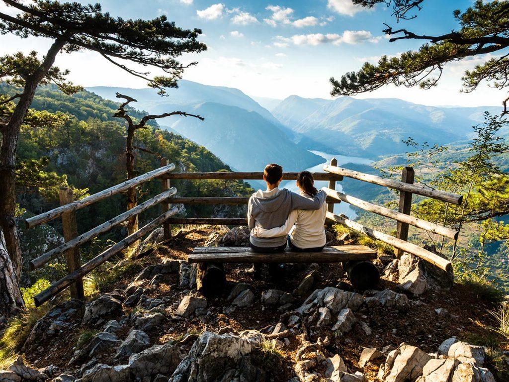 Banjska Stena viewpoint at Tara National Park - Serbia