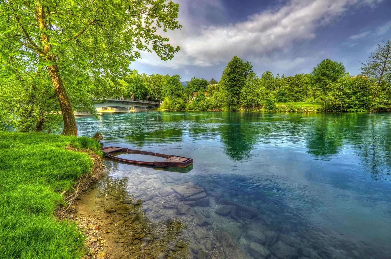 Bihac and Una River