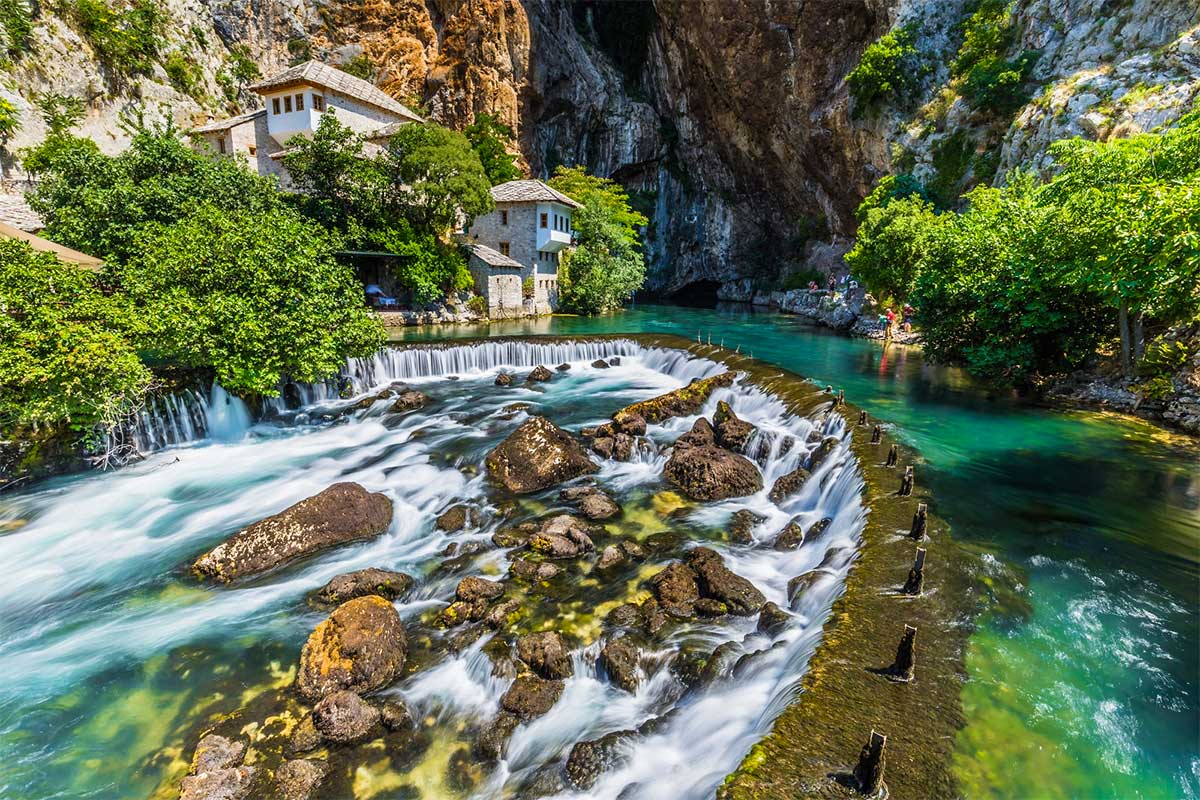 Blagaj Dervish House and Buna River Spring