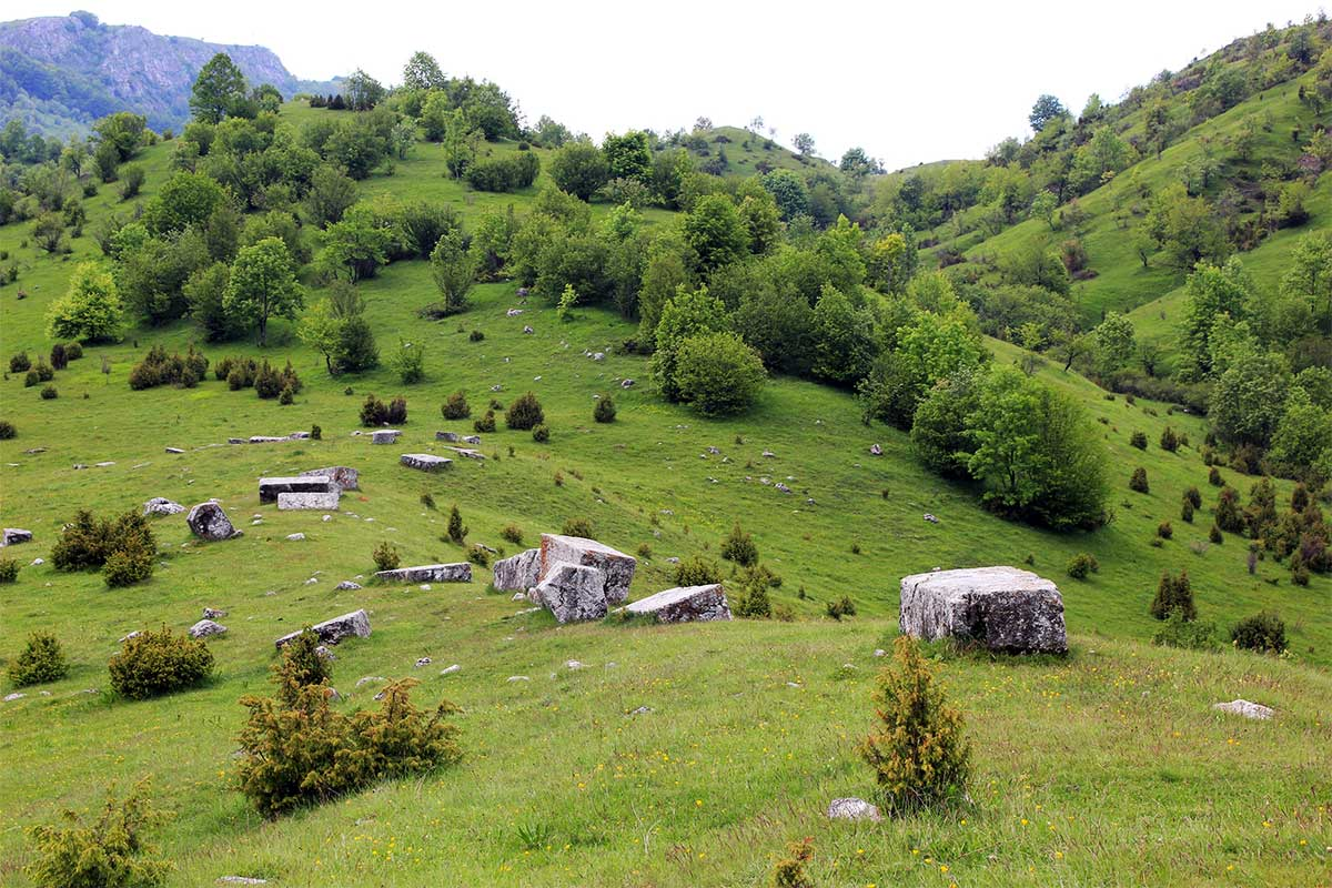 Dolovi Stecak Necropolis near Umoljani village - UNESCO World Heritage Site