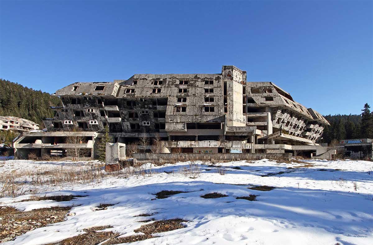 Hotel Igman near Sarajevo