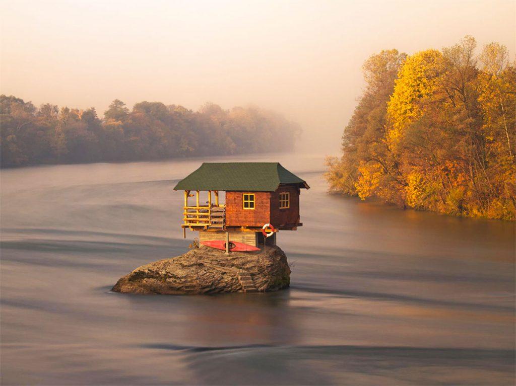 House on Drina at Bajina Bašta