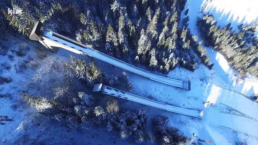 Igman Ski Jumps near Sarajevo