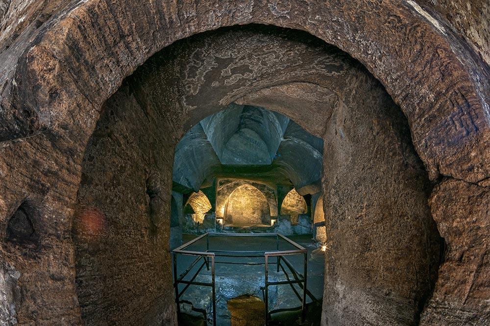 Jajce Catacombs under Jajce fort - Bosnia and Herzegovina