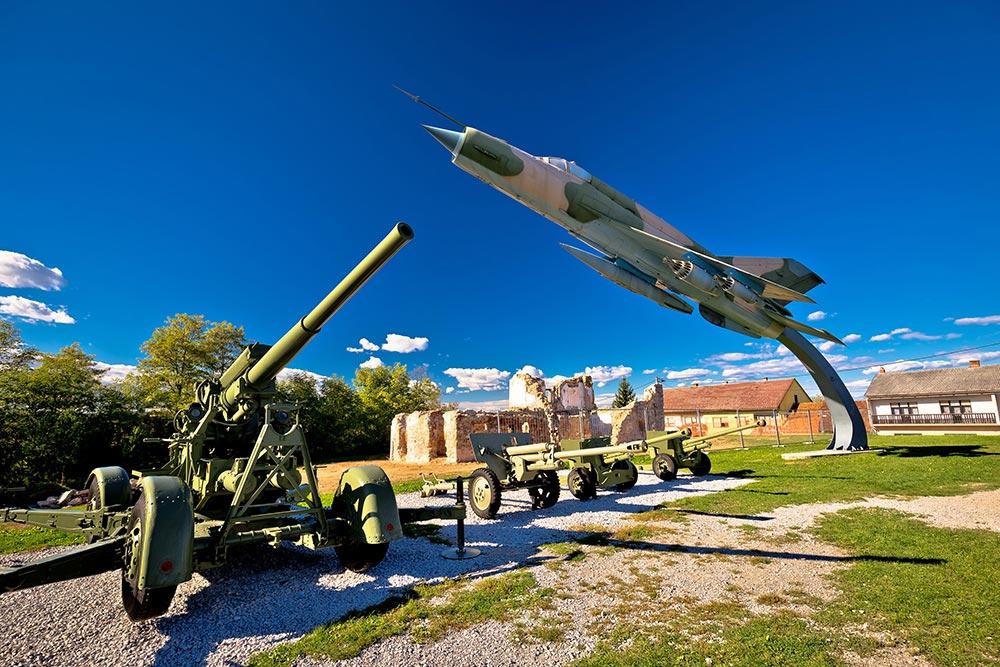 Karlovac military museum - Croatia