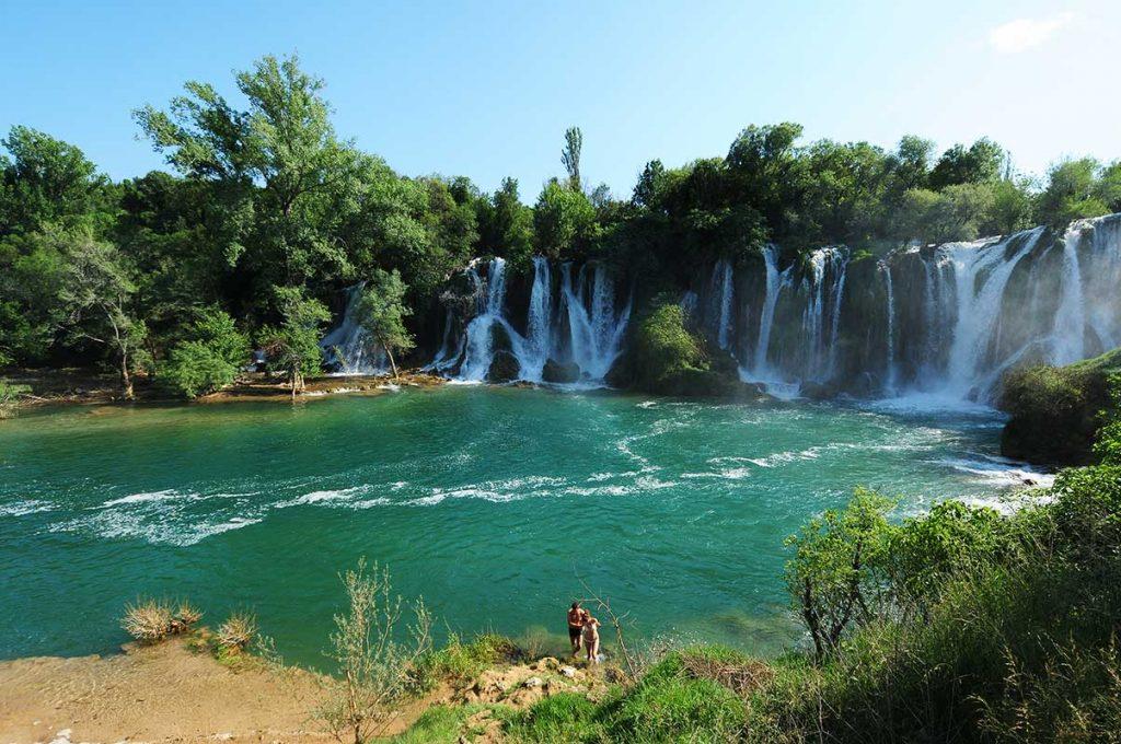 Kravice Waterfalls in Herzegovina near Mostar