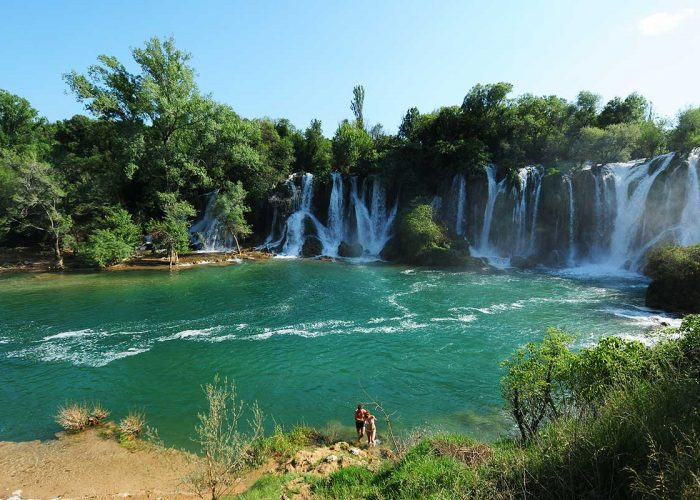 Kravice Waterfalls in Herzegovina near Mostar