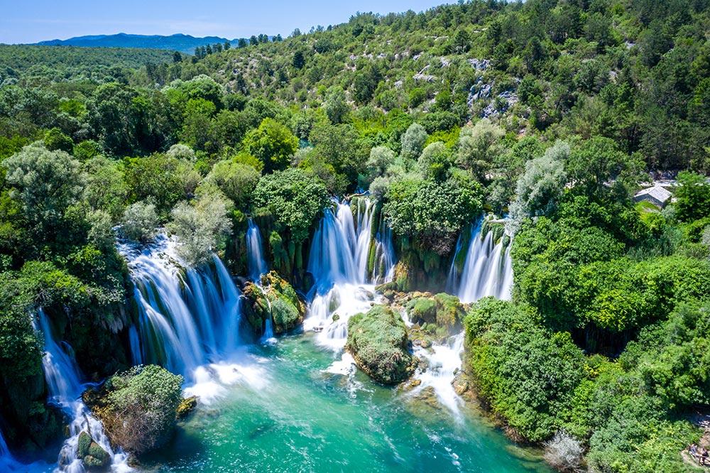Kravice Waterfalls near Ljubuski in Herzegovina