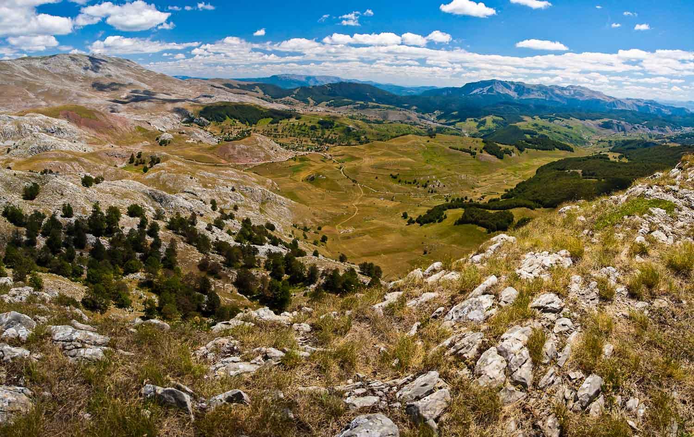 Lukomir Hiking at Bjelasnica - Scenery