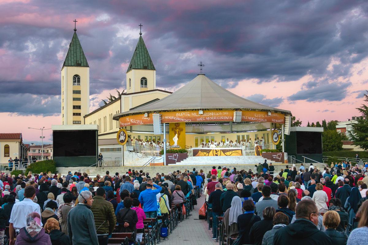 Medjugorje Mass at St. James Church