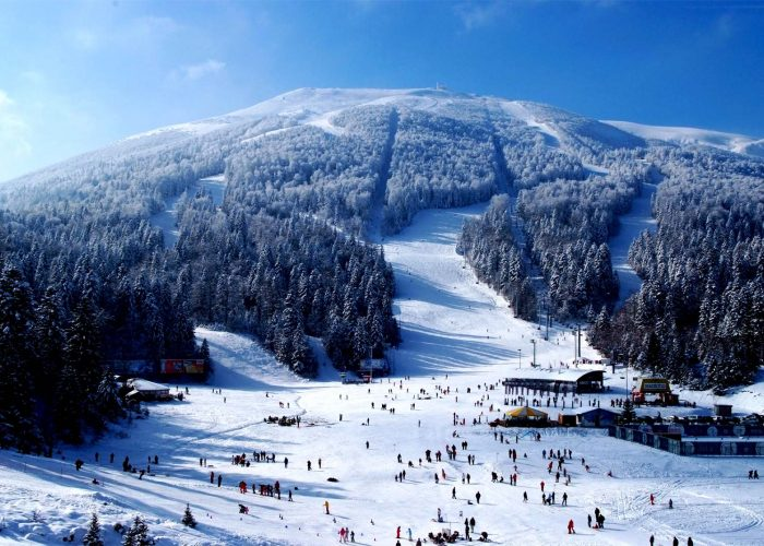 Olympic Mountain of Bjelasnica Ski Resort