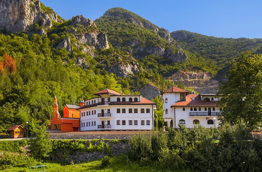 Orthodox Monastery at Dobrun - Bosnia and Herzegovina