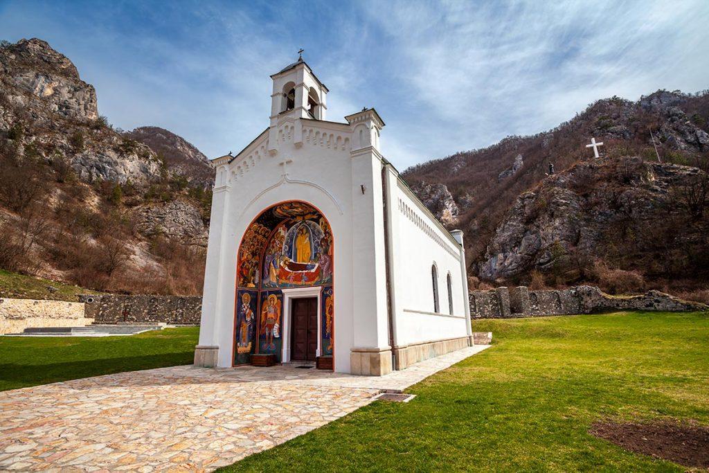 Ortodox (Serbian) Monastery at Dobrun - Bosnia and Herzegovina
