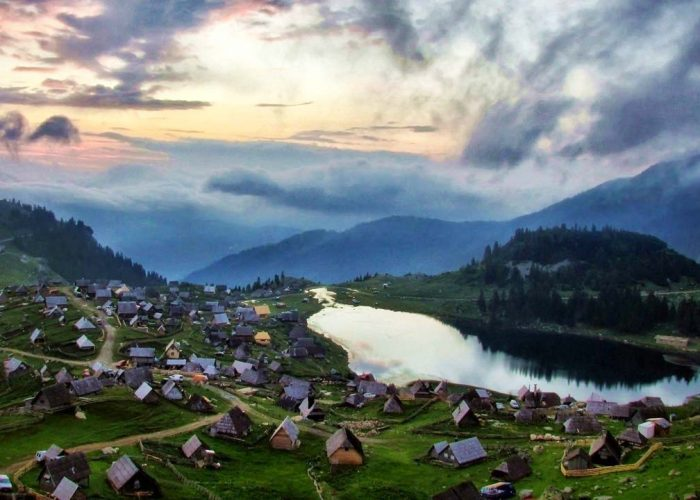 Prokosko Lake at Vranica Mountain
