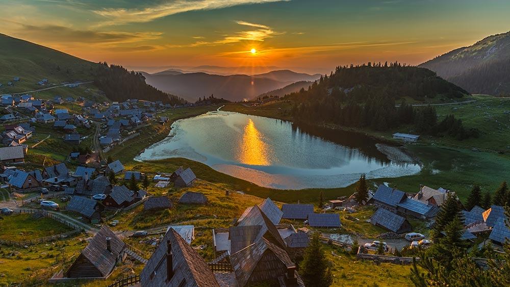 Prokosko Lake at Vranica mountain - Bosnia and Herzegovina