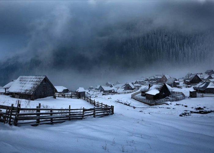 Prokosko Lake During the Winter