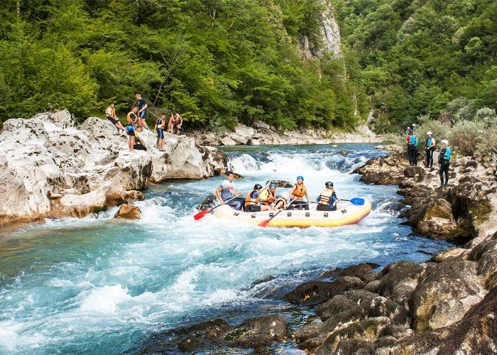 Rafting at Neretva River