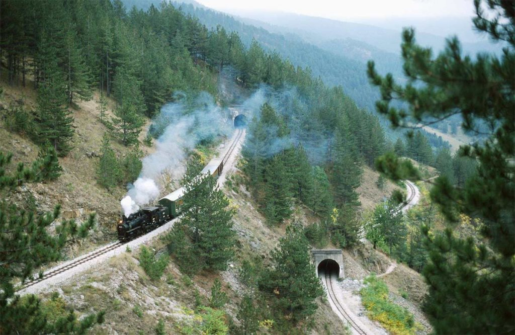 Sargan Eight Train at Mokra Gora Nature Park in Serbia