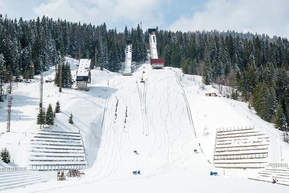 Ski Jumps at Igman Olympic Mountain - Bosnia and Herzegovina