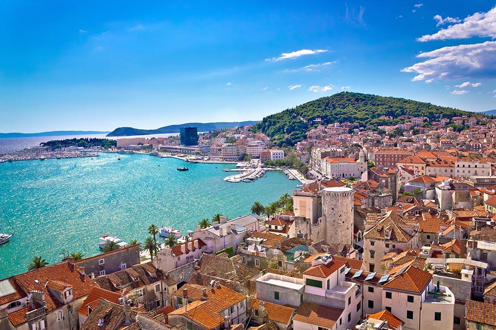 Split in Dalmatia - Croatia