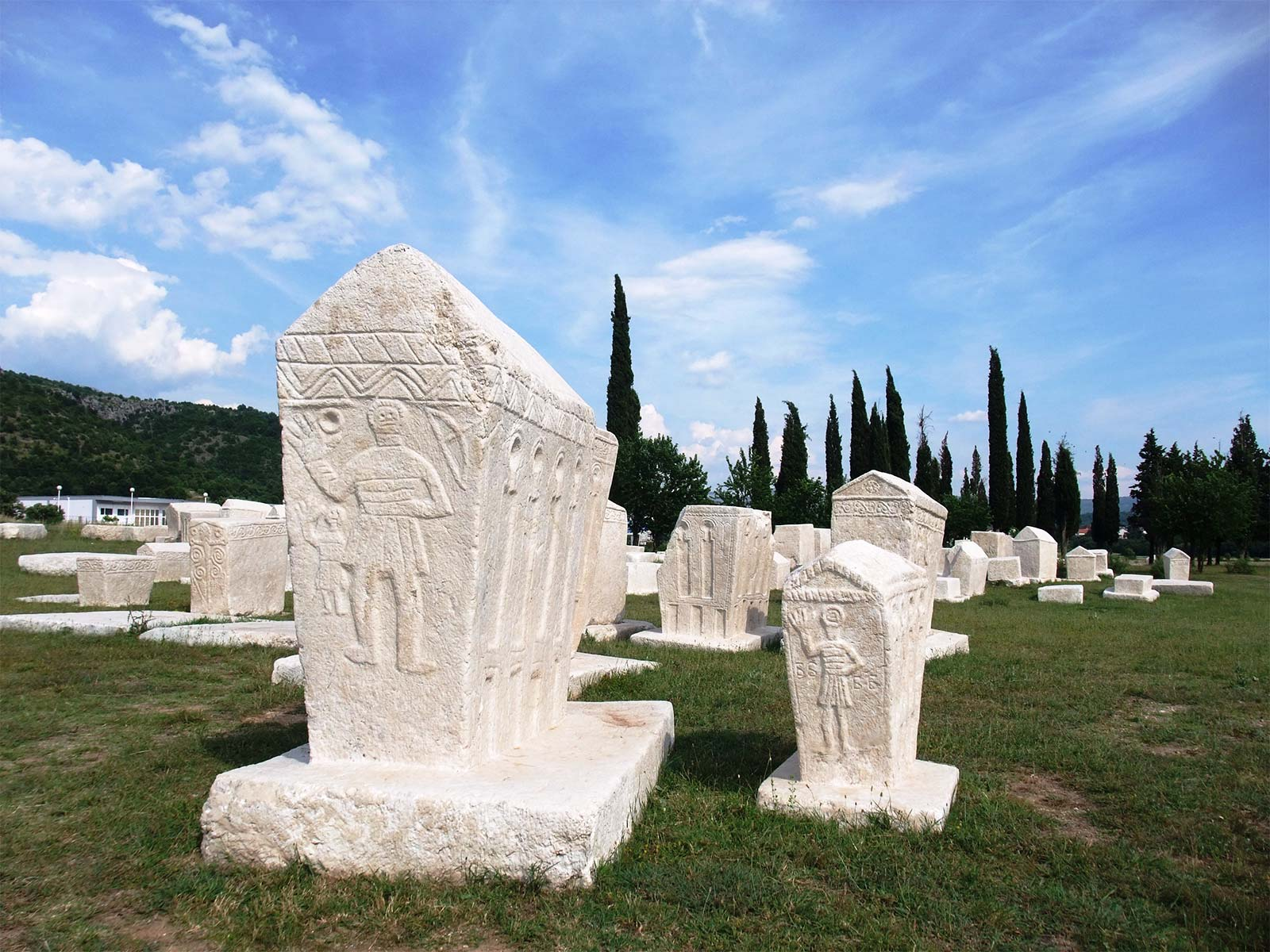 Stecak Unesco Necropolis at Radimlja near Mostar