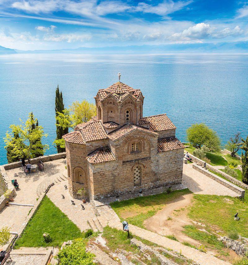 Sveti Naum at Ohrid - North Macedonia
