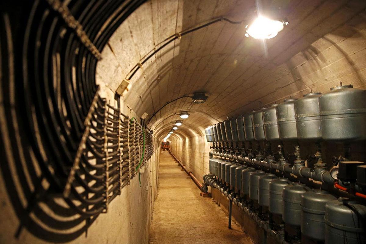 Titos Nuclear Bunker Konjic