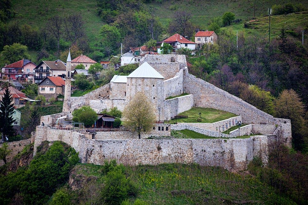 Travnik fort - Central Bosnia