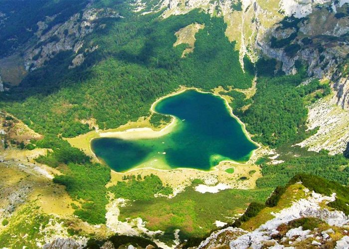 Trnovacko Lake - Sutjeska National Park - View from Maglic