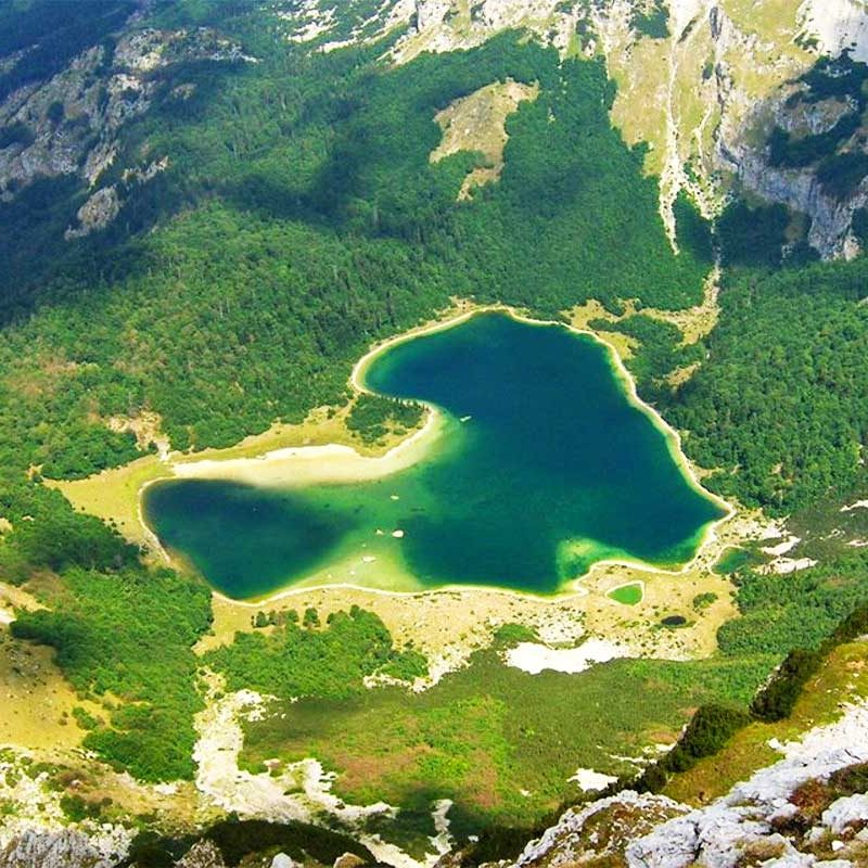 Trnovacko Lake - Sutjeska National Park - View from Maglic