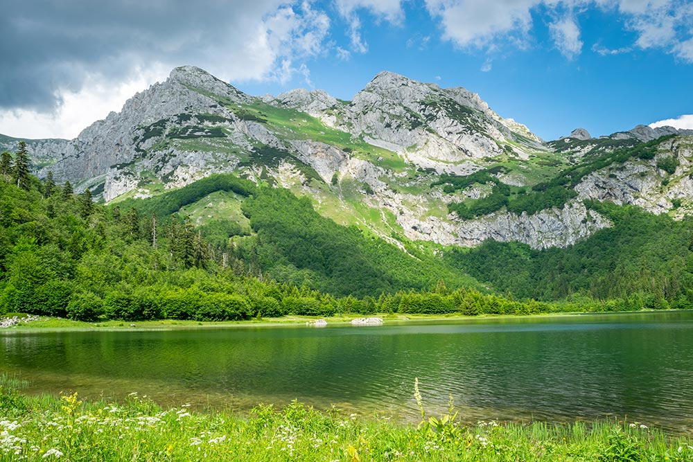 Trnovacko Lake at Sutjeska National Park - Bosnia and Herzegovina