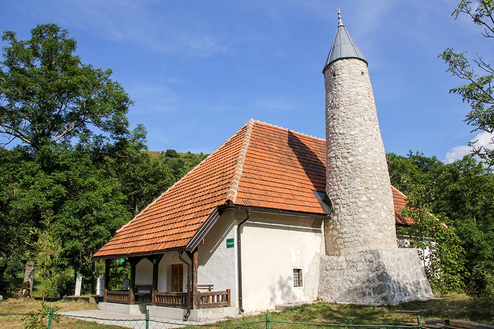 Umoljani Mosque at Umoljani village at Bjelasnica mountain