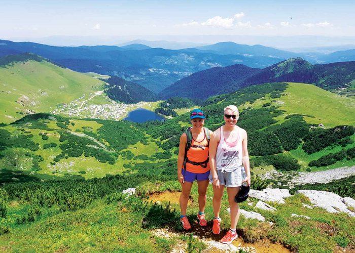 View on Prokosko Lake from Peak of Vranica Mountain