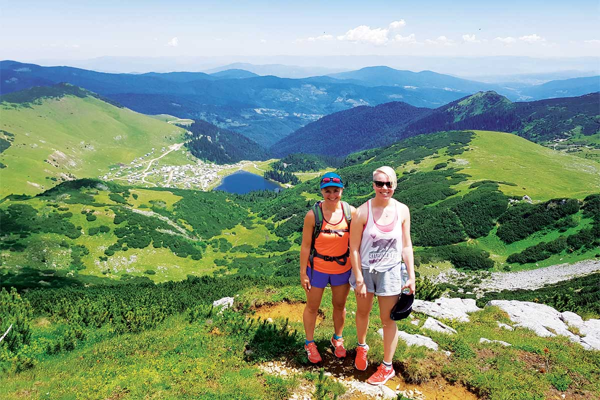 View on Prokosko Lake from Peak of Vranica Mountain