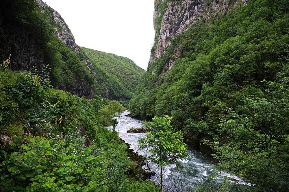 Vrbas river canyon - Bosnia and Herzegovina