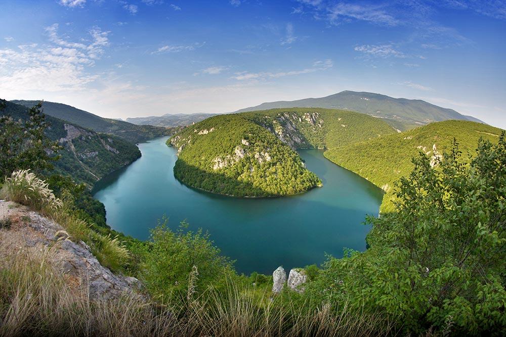 Vrbas river near Banja Luka - Bosnia and Herzegovina