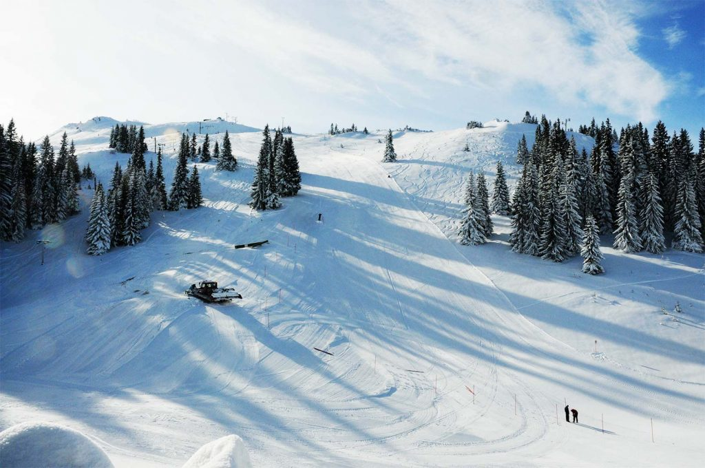 Jahorina Olympic Mountain Winter Time