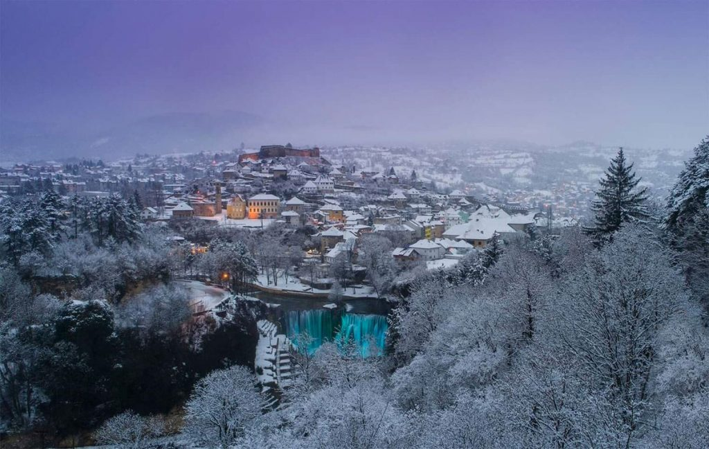 Jajce in winter time
