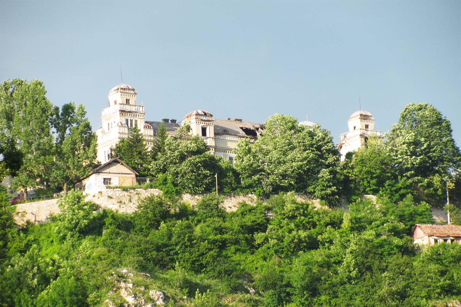 Jajce Barracks above Sarajevo
