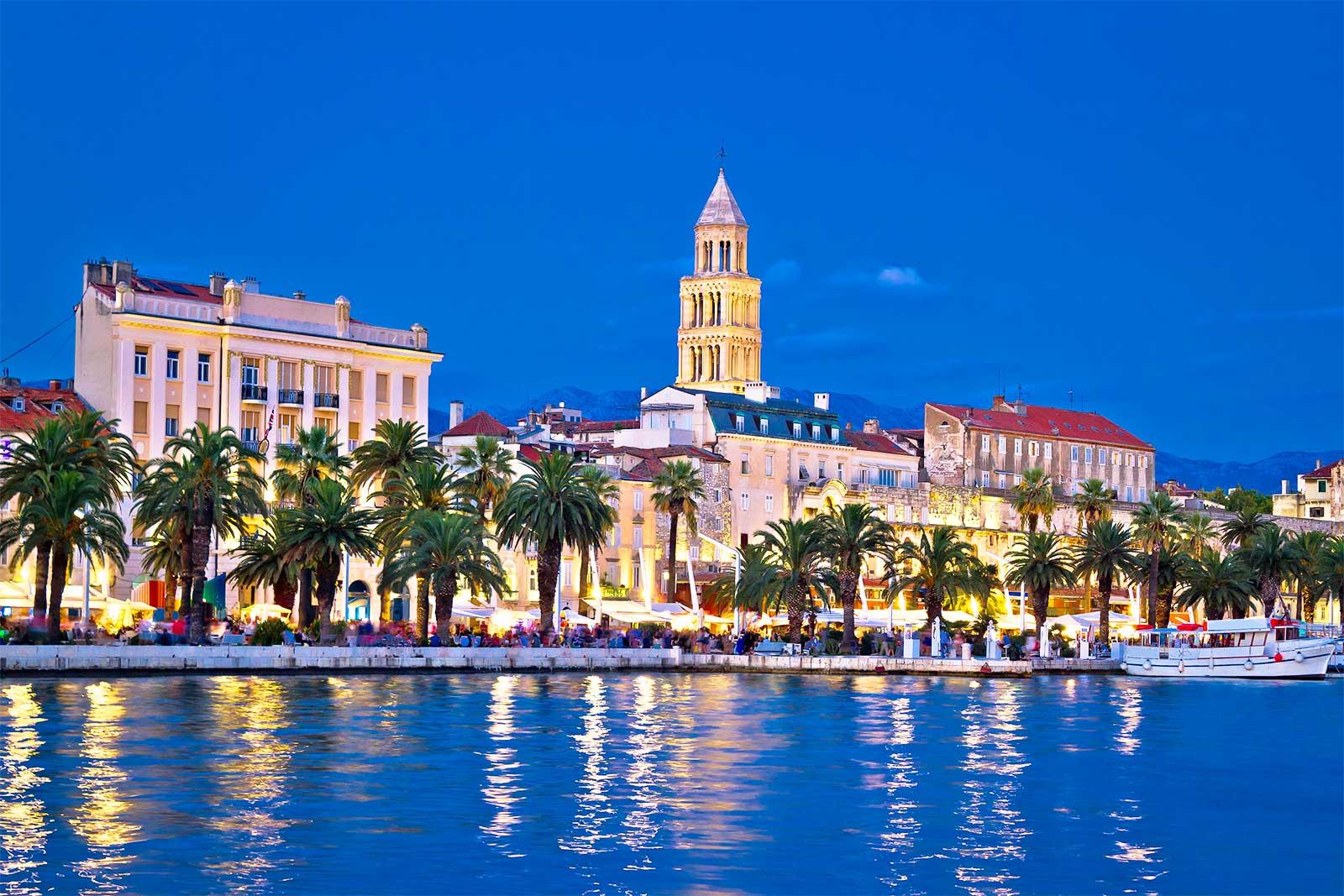Split Riva Croatia