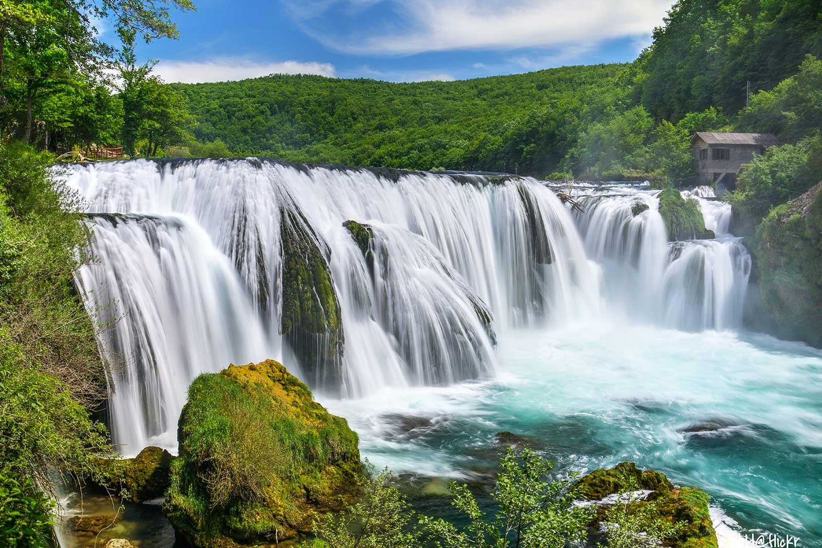Strbacki Buk Waterfall - Una National Park