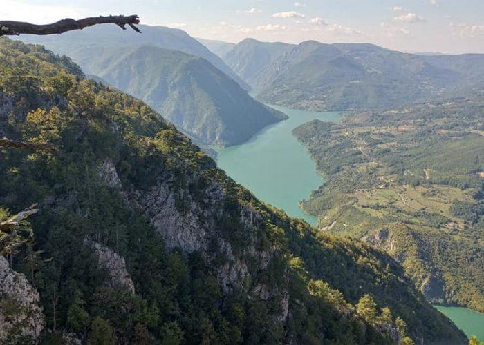Tara national park in Serbia and Banjska stena view point