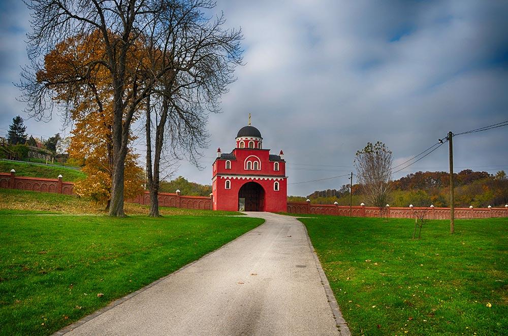Krusedol Monastery in Fruska Gora National Park - Vojvodina - Serbia_
