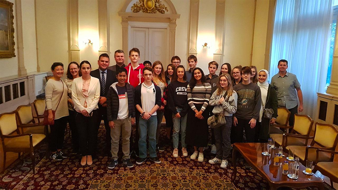 Bosnian Presidency House Meeting - Study Tour