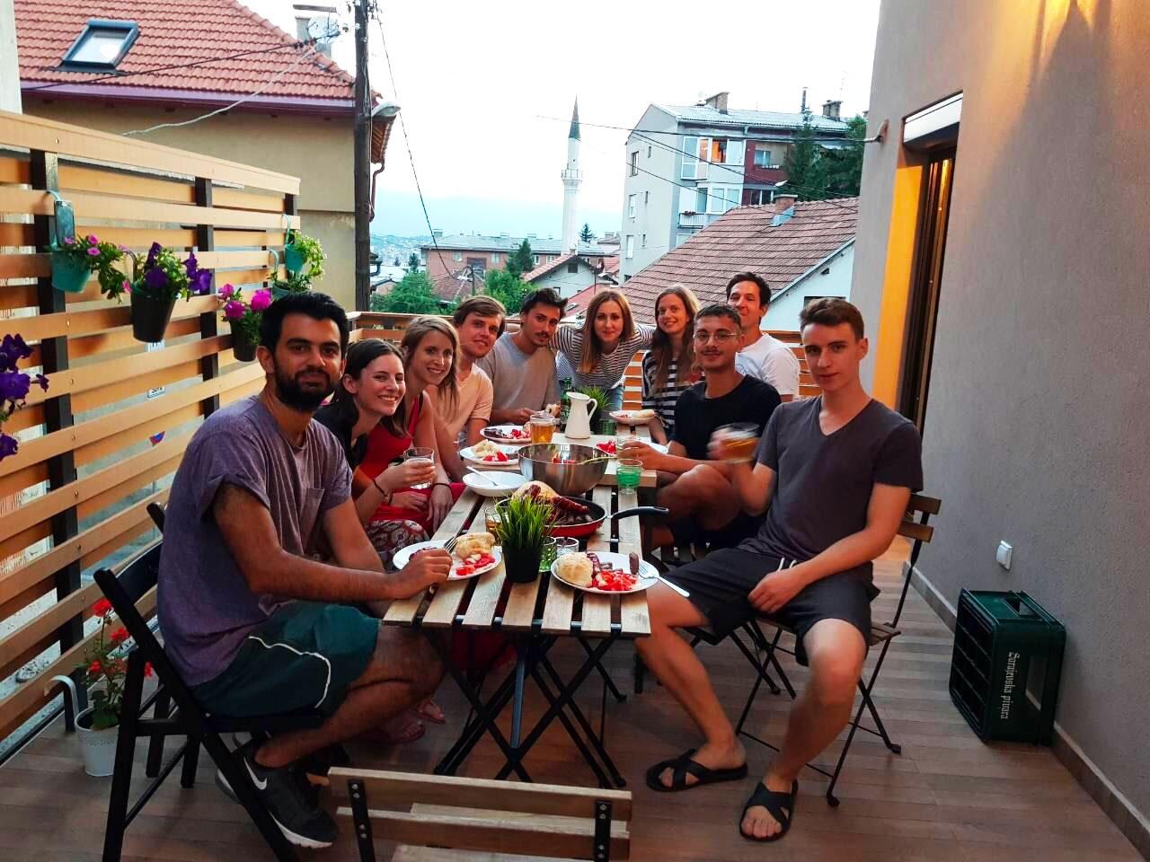 Study Trip in Sarajevo - Bosnia and Herzegovina