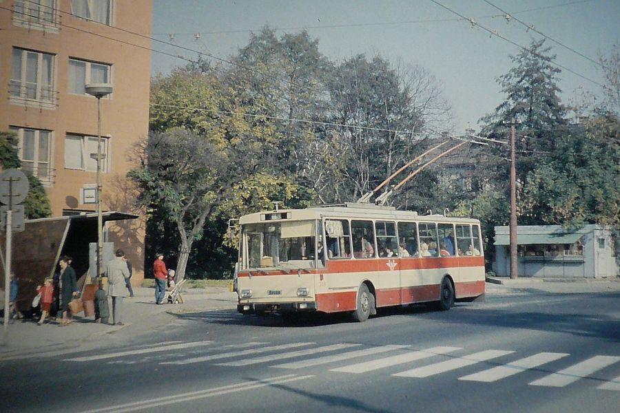old public transport in Sarajevo